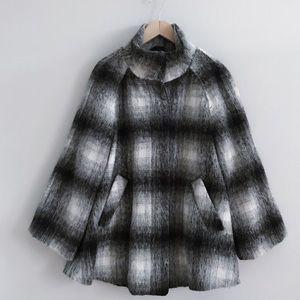 Forever 21 Plaid Swing Coat